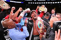 October 20, 2018: Demetrius Andrade vs Walter Kautondokwa