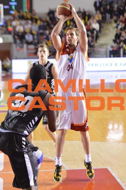 DESCRIZIONE : Roma Lega A 2012-2013 Acea Roma Oknoplast Bologna<br /> GIOCATORE : Lorant Peter<br /> CATEGORIA : tiro<br /> SQUADRA : Acea Roma<br /> EVENTO : Campionato Lega A 2012-2013 <br /> GARA : Acea Roma Oknoplast Bologna<br /> DATA : 24/03/2013<br /> SPORT : Pallacanestro <br /> AUTORE : Agenzia Ciamillo-Castoria/GiulioCiamillo<br /> Galleria : Lega Basket A 2012-2013  <br /> Fotonotizia : Roma Lega A 2012-2013 Acea Roma Oknoplast Bologna<br /> Predefinita :