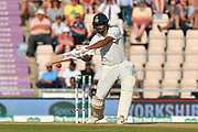 Ravichandran Ashwin of India batting during the 4th day of the 4th SpecSavers International Test Match 2018 match between England and India at the Ageas Bowl, Southampton, United Kingdom on 2 September 2018.