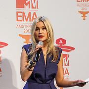 NLD/Amsterdam/20131109 - Pressconference MTV EMA 2013, Laura Whitmore