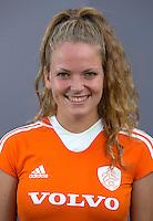 UTRECHT - Maartje Krekelaar.  Jong Oranje meisjes -21 voor EK 2014 in Belgie (Waterloo). COPYRIGHT KOEN SUYK