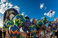 Balloon souvenirs, Balloon FIesta Park, Albuquerque International Balloon Fiesta, Albuquerque, New Mexico USA.