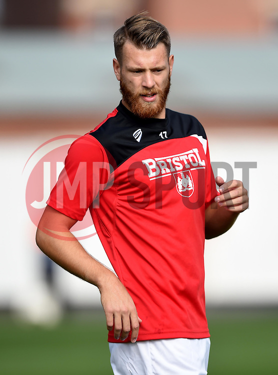 Nathan Baker of Bristol City - Mandatory by-line: Paul Knight/JMP - Mobile: 07966 386802 - 03/10/2015 -  FOOTBALL - Ashton Gate Stadium - Bristol, England -  Bristol City v MK Dons - Sky Bet Championship