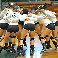 8.30.2011 Midview at Elyria Catholic Varsity Volleyball