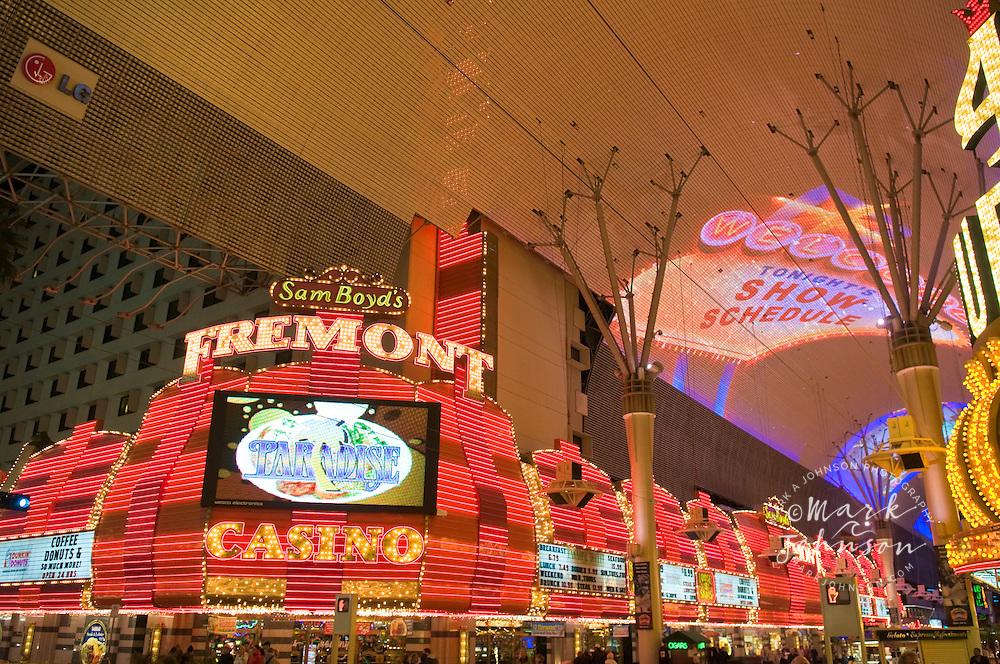 Fremont Street Experience, Downtown Las Vegas, Nevada, USA