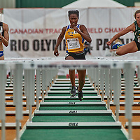 Astrid Nyame advances to the final of the Women's 100m Hurdles with a time of 13.92