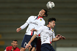 November 12, 2017 - Teramo, TE, Italy - Lorenzo Burzigotti of A.S. Gubbio 1910 in action during the Lega Pro 17/18 group B match between Teramo Calcio 1913 and AS Gubbio 1910 at Gaetano Bonolis stadium on November 12, 2017 in Teramo, Italy. (Credit Image: © Danilo Di Giovanni/NurPhoto via ZUMA Press)