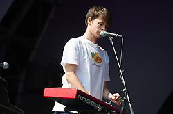 Rex Orange County performs on stage on day 2 of All Points East festival in Victoria Park in London, UK. Picture date: Saturday 26 May 2018. Photo credit: Katja Ogrin/ EMPICS Entertainment.