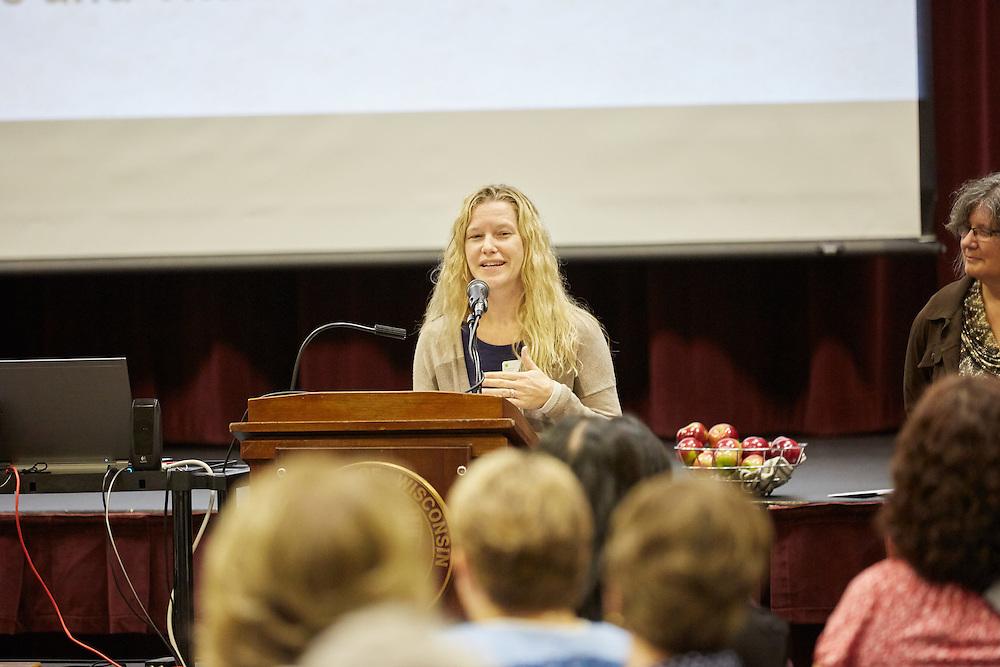 Self Sufficiecy Program Scholarship Breakfast; Buildings; Cartwright; Location; Inside; Fall; October; People; Student Students; Type of Photography; Candid; UWL UW-L UW-La Crosse University of Wisconsin-La Crosse