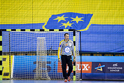 Slawomir Szmal of PGE Vive Kielce during handball match between RK Celje Pivovarna Lasko and PGE Vive Kielce in Group Phase A+B of VELUX EHF Champions League, on September 30, 2017 in Arena Zlatorog, Celje, Slovenia. Photo by Urban Urbanc / Sportida