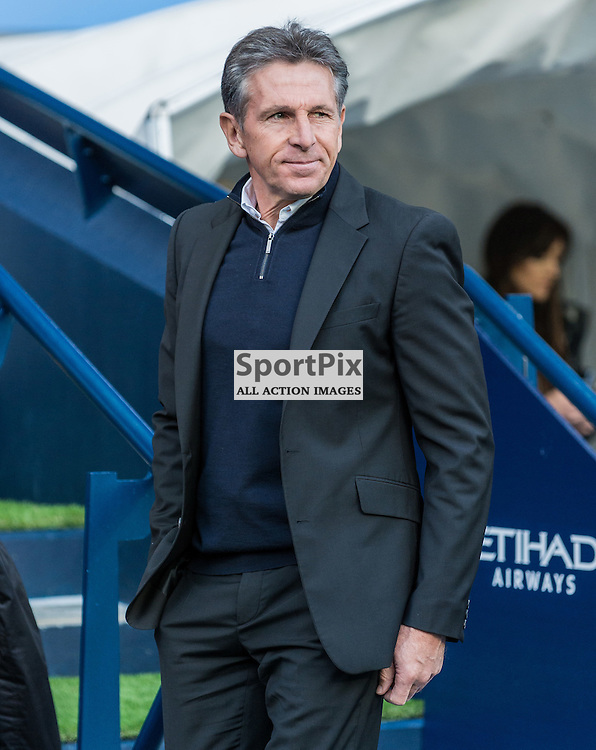 Southampton manager Claude Puel in the Premier League match between Manchester City and Southampton<br /> <br /> (c) John Baguley | SportPix.org.uk