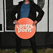 Celebrities join 1,000 Londoners for Sleep Out fundraiser to help homeless young people at Greenwich Peninsula Quay on 15 November 2018, London, UK.