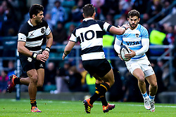 Ramiro Moyano of Argentina takes on Handre Pollard of Barbarians - Mandatory by-line: Robbie Stephenson/JMP - 01/12/2018 - RUGBY - Twickenham Stadium - London, England - Barbarians v Argentina - Killick Cup