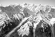 Glaciers in the Tien Shan mountains, Kazakhstan