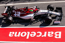 February 21, 2019 - Montmelo, BARCELONA, Spain - Antonio Giovinazzi from Italy with 99 Alfa Romeo Racing in action during the Formula 1 2019 Pre-Season Tests at Circuit de Barcelona - Catalunya in Montmelo, Spain on February 21. (Credit Image: © AFP7 via ZUMA Wire)