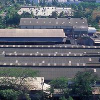 Zona industrial de Valencia, Estado Carabobo, Venezuela.