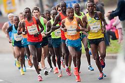 Athletes compete during 18th Ljubljana Marathon 2014 on October 26, 2014 in Ljubljana, Slovenia. Photo by Urban Urbanc / Sportida.com