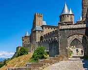 Carcassonne. A fascinating hill-top castle and fortress in the south-west of France, a UNESCO world heritage site it was painstakingly restored in the late 19th-century by Viollet-le-Duc, one of the founders of the modern science of conservation.