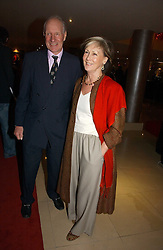 CHARLES & PATTI PALMER-TOMKINSON at a party to launch Three's A Crowd held at the Mayfair Hotel, Berkley Street, London on 5th December 2006.<br />