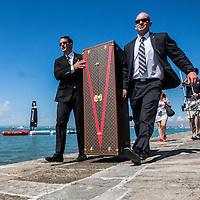 Americas Cup arrival