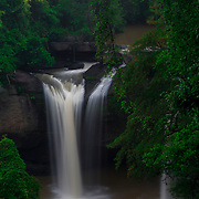 Heo Suwat Waterfall in Khao Yai Nationional Park, Thailand