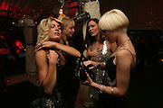 Hofit Golan, Liz Fuller, Charlotte Dutton and Linzi Stoppard, Tropical Colour party to celebrate Le Touessrok. Hempel Hotel London. 12 June 2007.  -DO NOT ARCHIVE-© Copyright Photograph by Dafydd Jones. 248 Clapham Rd. London SW9 0PZ. Tel 0207 820 0771. www.dafjones.com.