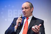 26 FEB 2009, BERLIN/GERMANY:<br /> Joel Saveuse, Chef der Metro-SB-Warenhaustocher real und metro Vorstandsmitglied, Podiumsdiskussion, Preisverleihung des Best of European Business Awards, Franzoesische Botschaft<br /> IMAGE: 20090226-02-025