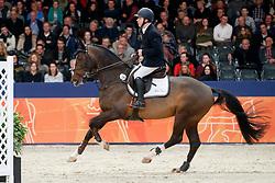 Heijligers Rob, NED, Fire<br /> KWPN Stallionshow - 's Hertogenbosch 2018<br /> © Hippo Foto - Dirk Caremans<br /> 01/02/2018