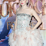 Ellie Bamber attend The Nutcracker and the Four Realms - UK premiere at Vue Westfield, Westfield Shopping Centre, Ariel Way on 1st Nov 2018, London, UK.