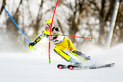 """Marie-Michele Gagnon (CAN) during FIS Alpine Ski World Cup 2016/17 Ladies Slalom race named """"Snow Queen Trophy 2017"""", on January 3, 2017 in Course Crveni Spust at Sljeme hill, Zagreb, Croatia. Photo by Žiga Zupan / Sportida"""