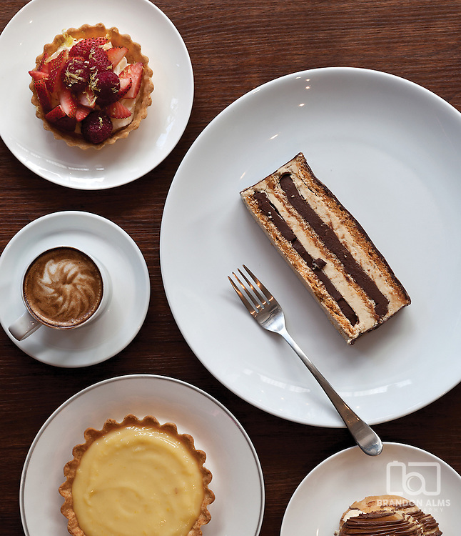 A collection of sweet treats from European Cafe located in Springfield, MO. Photo by Brandon Alms Photography