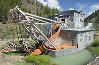 Yankee Fork Gold Dredge Idaho