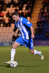 Colchester's Ryan Dickson runs with the ball - Photo mandatory by-line: Mitchell Gunn/JMP - Tel: Mobile: 07966 386802 04/03/2014 - SPORT - FOOTBALL - Colchester Community Stadium - Colchester - Colchester v Rotherham - Sky Bet League 1