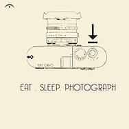 Eat Sleep Photograph