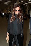 25.FEBRUARY.2013. LONDON<br /> <br /> VICTORIA BECKHAM ARRIVING BACK AT ST.PANCRAS STATION AFTER GETTING THE EUROSTAR TRAIN FROM PARIS.<br /> <br /> BYLINE: EDBIMAGEARCHIVE.CO.UK<br /> <br /> *THIS IMAGE IS STRICTLY FOR UK NEWSPAPERS AND MAGAZINES ONLY*<br /> *FOR WORLD WIDE SALES AND WEB USE PLEASE CONTACT EDBIMAGEARCHIVE - 0208 954 5968*