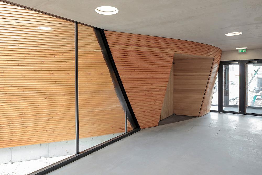 Kampin hiljentymiskappeli - Kamppi chapel of silence in Helsinki, Finland designed by K2S architects.