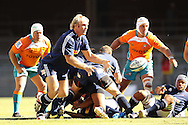 Schalk Burger (captain) releases the ball during the DHL Pre-Season Series match between The Stormers and the Cheetahs held at Newlands Rugby Stadium in Newlands, Cape Town on the 4th February 2012.Photo by Ron Gaunt/SPORTZPICS