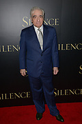 Martin Scoresese arrives at the Los Angeles premiere of Silence on Thursday, January 5, 2017 at the Directors Guild of America in Los Angeles, California