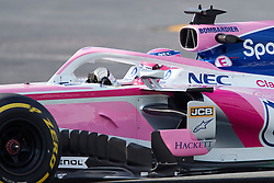 February 19, 2019 - Montmelo, BARCELONA, Spain - Lance Stroll (Racing Point F1 Team) seen in action during the winter test days at the Circuit de Catalunya in Montmelo (Catalonia), Tuesday, February 19, 2019. (Credit Image: © AFP7 via ZUMA Wire)