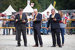 Jury <br /> Finale 3J Springmerries<br /> KWPN Paardendagen Ermelo 2013<br /> © Dirk Caremans