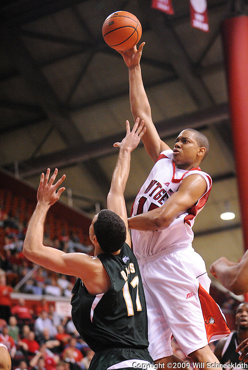 Mar 7, 2009; Piscataway, NJ, USA; Rutgers forward J.R. Inman (15) takes a shot during the second half of Rutgers' senior day game against South Florida at the Louis Brown Athletic Center.  Rutgers won 45-42.