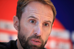 England manager Gareth Southgate during the press conference at The Grove Hotel, Hertfordshire.