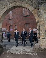 Weimar, 08-02-2017<br /> <br /> <br /> King Willem-Alexander and Queen Maxima visit Erfurt during their 4 days visit to Germany.<br /> <br /> Visit Concentrationcamp Buchenwald<br /> <br /> PUBLICATION IN FRANCE!!!!<br /> <br /> <br /> COPYRIGHT: ROYALPORTRAITS EUROPE/ BERNARD RUEBSAMEN