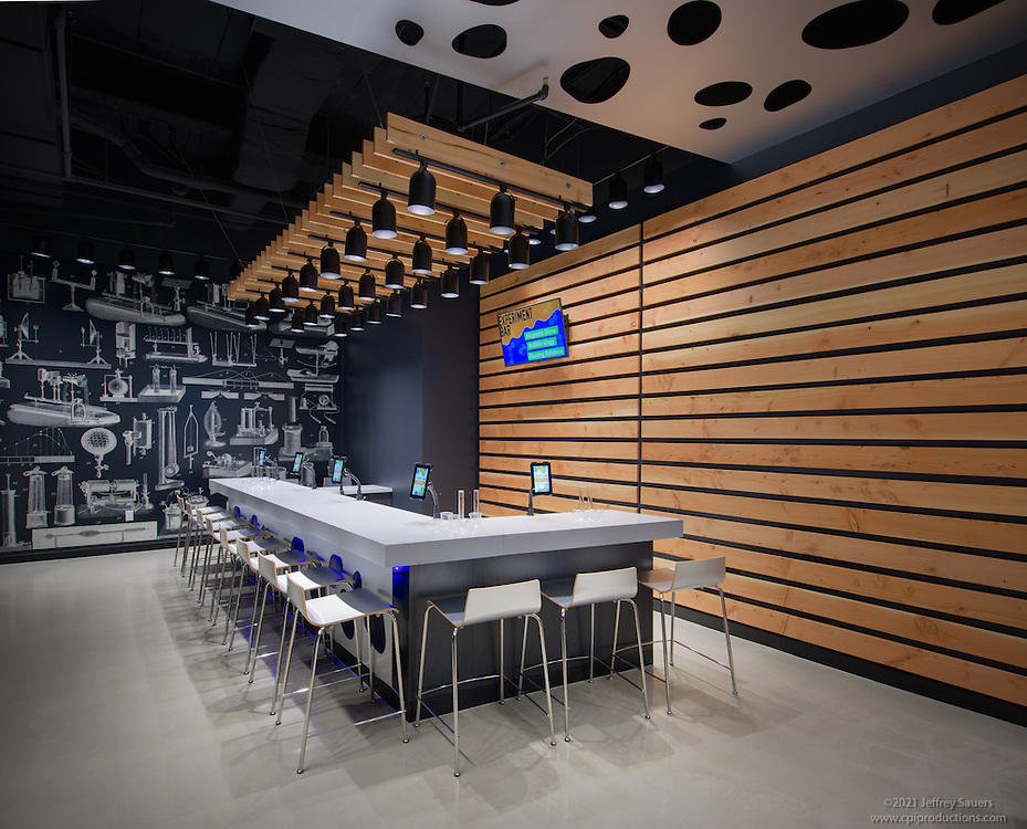 Interior photo of Childrens Science Center in FairOaks Mall in Fairfax Virginia by Jeffrey Sauers of Commercial Photographics, Architectural Photo Artistry in Washington DC, Virginia to Florida and PA to New England