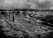 Odaka, within 13 km of cripple Fukushima Daiichi Nuclear Power Plant, is still a nuclear ghost town after five months after it was removed from the nuclear no-entry zone. 13,000 people used to live here.  Residents may return but not spend the night in the town because much of it lacks running water, sewage and radiation decontamination is still not complete.   Odaka, Minami-Soma, Fukushima Prefecture, Japan.