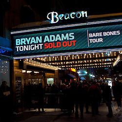 Bryan Adams at The Beacon:  Jan 27, 2011