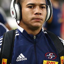 DURBAN, SOUTH AFRICA - MAY 31: Cheslin Kolbe of the DHL Stormers during the Super Rugby match between Cell C Sharks and  DHL Stormers at Growthpoint Kings Park on May 31, 2014 in Durban, South Africa. (Photo by Steve Haag/Gallo Images)