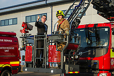 Finance Minister Visits Fire and Rescue East HQ | Edinburgh | 14 February 2017
