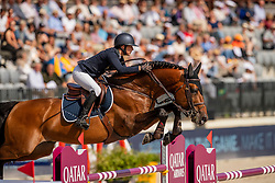 Jylas Juulia, FIN, Finishing Touch Wareslage<br /> European Championship Jumping<br /> Rotterdam 2019<br /> © Dirk Caremans<br /> Jylas Juulia, FIN, Finishing Touch Wareslage