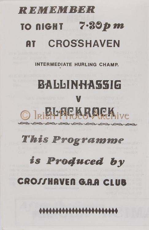 hurling match, crosshaven,   Railway Cup Hurling.Munster v Connacht.Pairc Ui Chaoimh.16th April 1978.16.04.1978